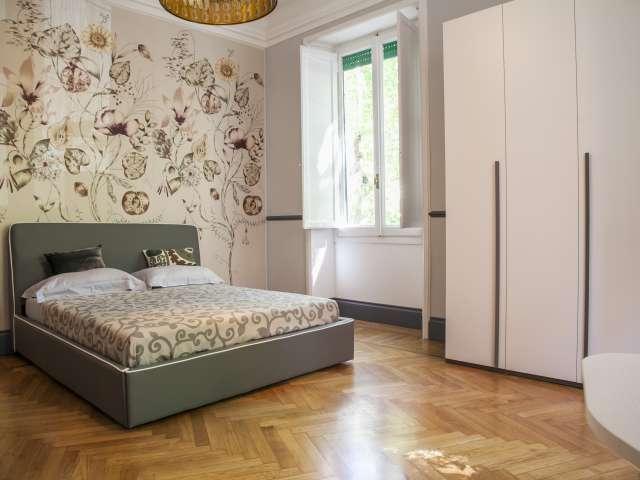 Modern room in apartment in Parioli, Rome