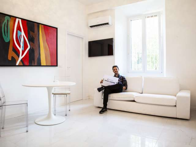 Appartement moderne 1 chambre à louer à Pinciano, Rome