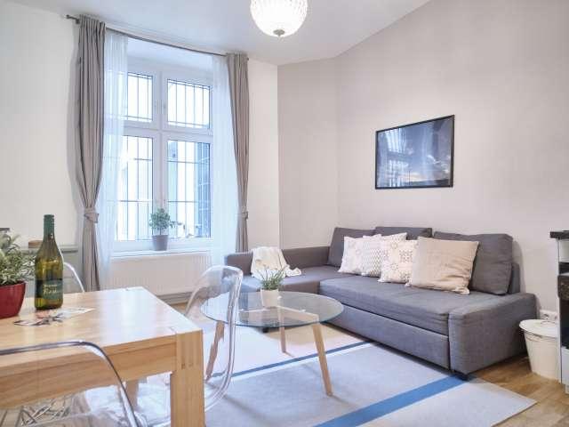 Apartment with 1 bedroom for rent in Moabit, Berlin