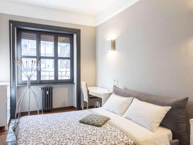 Moderna camera condivisa in appartamento a Flaminio