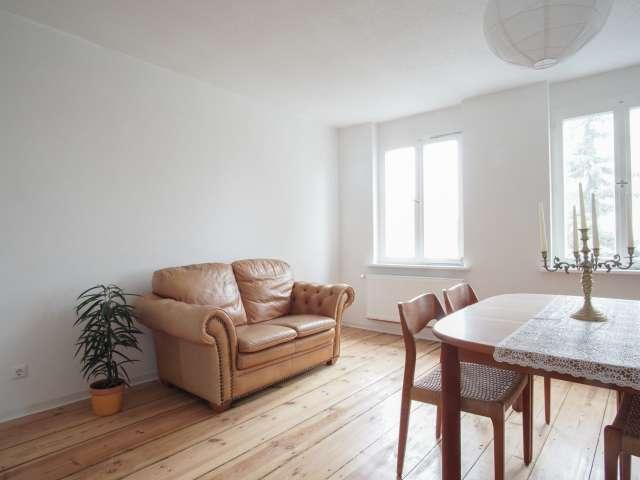 Spacious 1-bedroom apartment for rent in Britz, Berlin