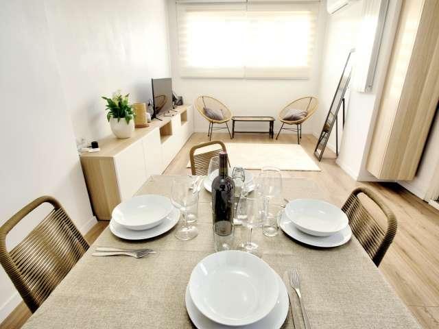 Intero appartamento con 2 camere da letto a Roma
