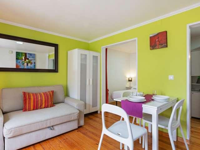 Studio apartment for rent in Martim Moniz, Lisbon