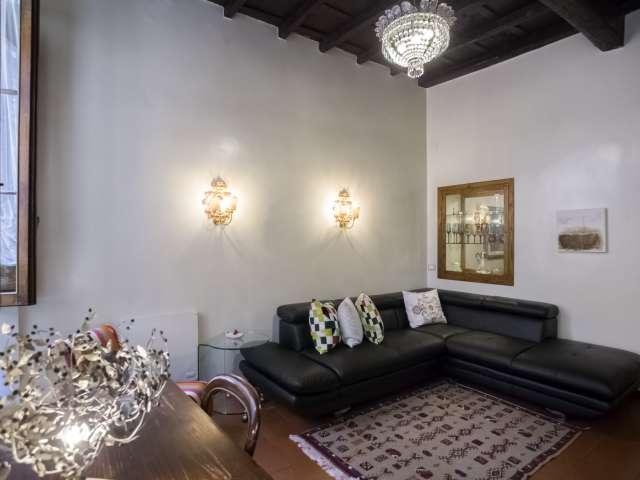 Elegante appartamento con 1 camera da letto in affitto, Centro Storico