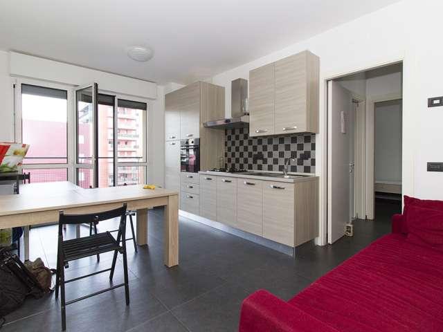 Appartamento con 2 letti in affitto vicino all'università di Bovisa, Milano