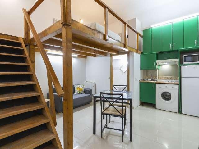 Studio chic à louer à Almagro, Madrid