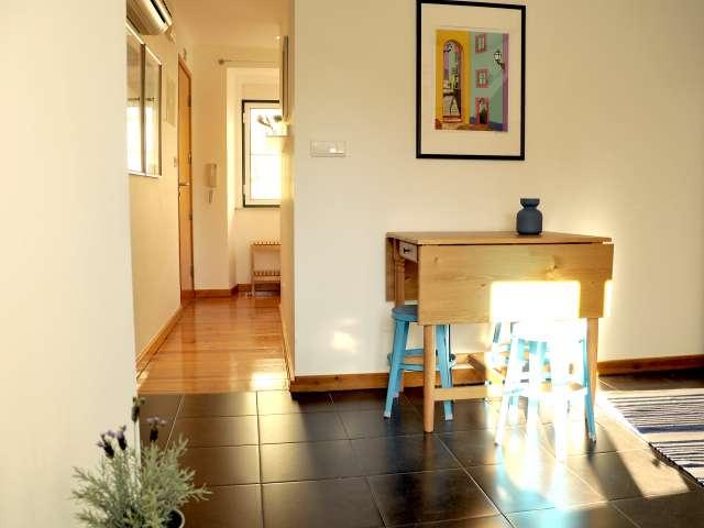 1-bedroom apartment for rent in Martim Moniz, Lisbon