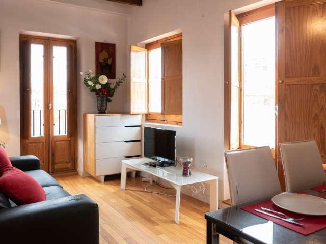 Studio apartment to rent in Puerta del Angel, Madrid
