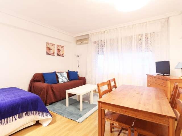 Studio apartment for rent in Castellana, Madrid