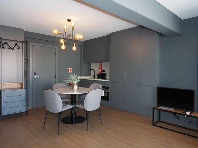 Studio apartment for rent in Avenidas Novas, Lisbon