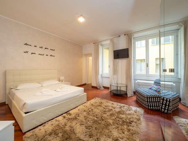 Stylish studio apartment for rent in Porta Venezia, Milan