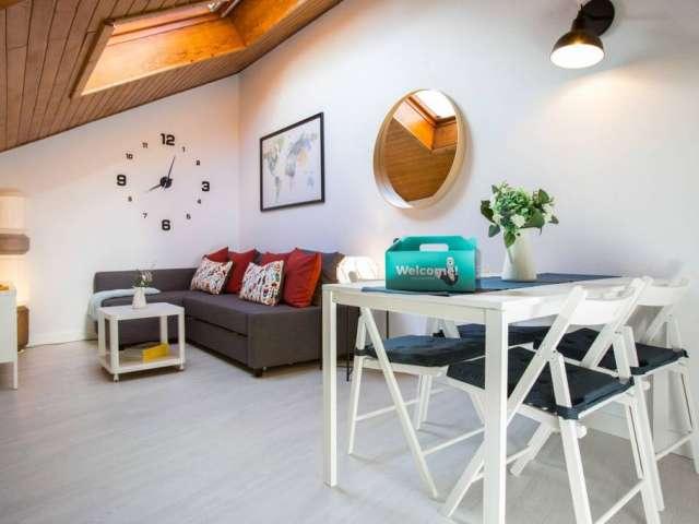 Bonito apartamento de 1 dormitorio en alquiler en el centro de Madrid.