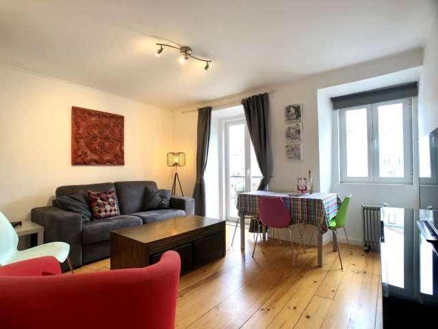 Comfy 1-bedroom apartment for rent in Arroios, Lisbon