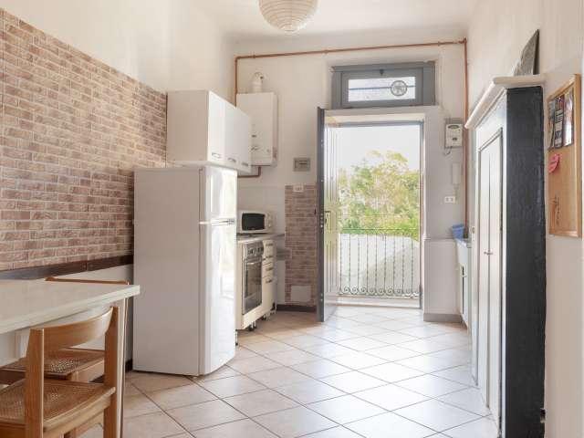 Grazioso appartamento con 1 camera da letto in affitto a Bovisa