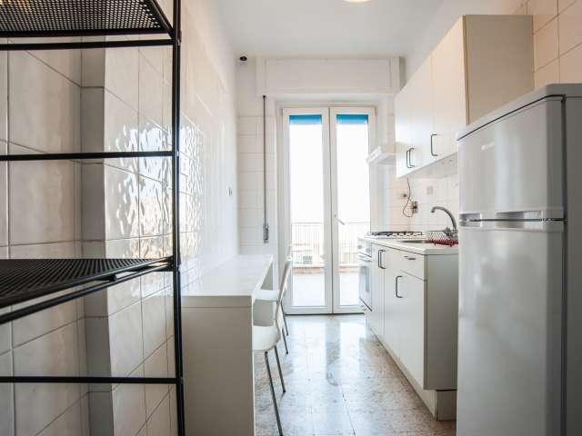 Bel appartement 3 chambres à louer à Ostiense, Rome.