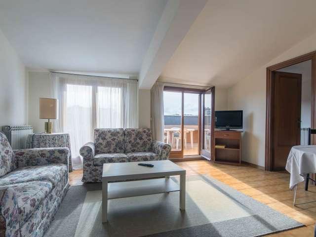 Luminoso appartamento con 2 camere da letto in affitto a Torrino, Roma