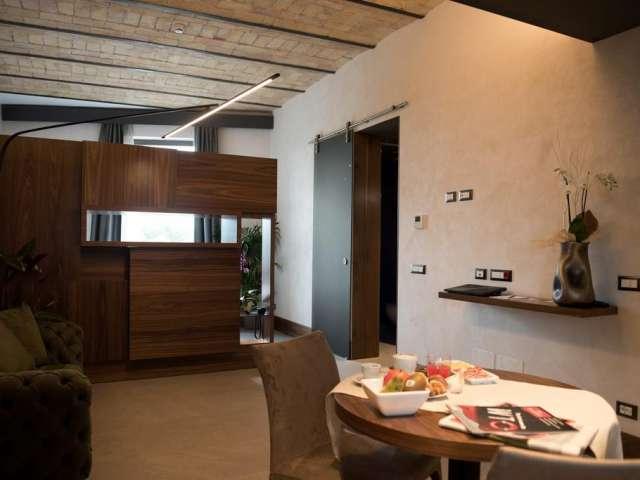 Elegante monolocale in affitto a Ostiense, Roma