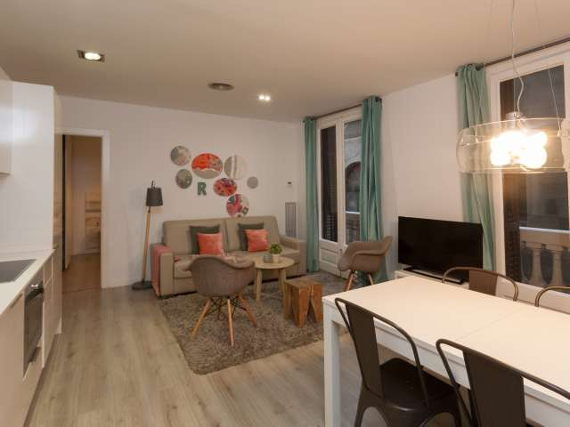 Lovely 2-bedroom apartment for rent in Barcelona