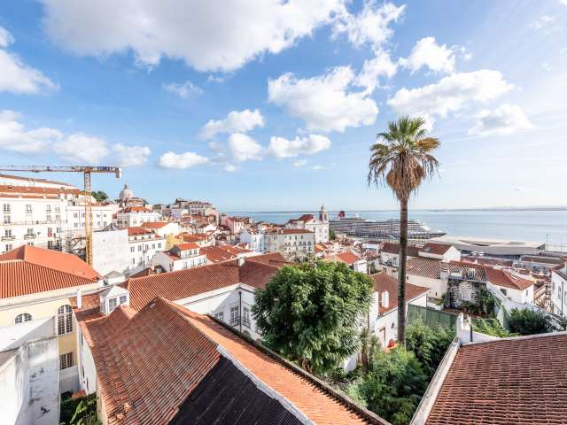 Studio apartment for rent in Alfama, Lisbon