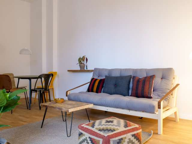 Sunny apartment with 1 bedroom in Friedrichshain, Berlin
