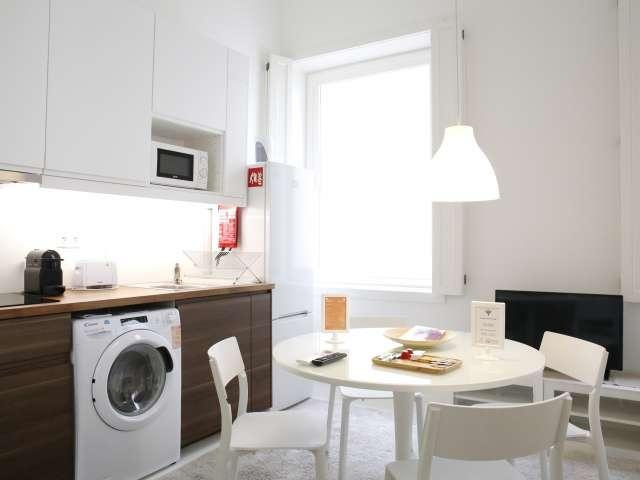 Stylish studio apartment for rent in Chiado, Lisbon