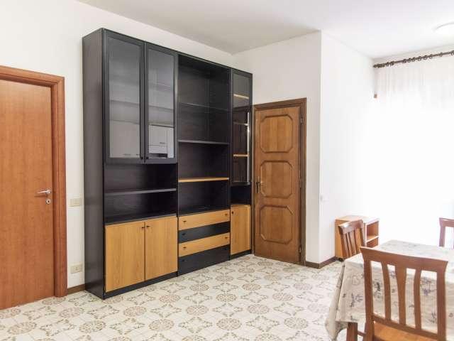 Spazioso appartamento con 1 camera da letto in affitto a Balduina, Roma