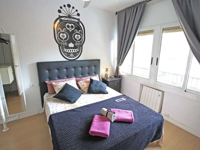 Trendy 2-bedroom apartment for rent in Poblenou, Barcelona