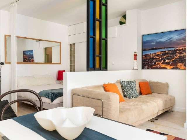 Studio apartment for rent in Bairro Alto, Lisbon