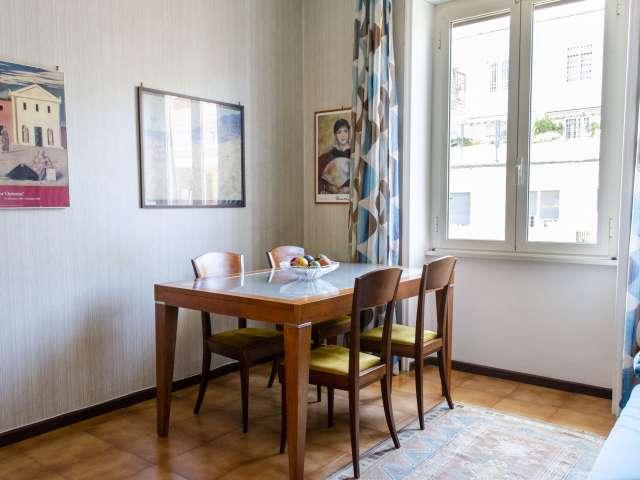 Appartement 1 chambre à louer à Treiste, Rome