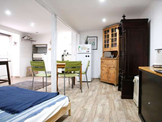 Acolhedor apartamento de estúdio para arrendar em Carnaxide, Lisboa