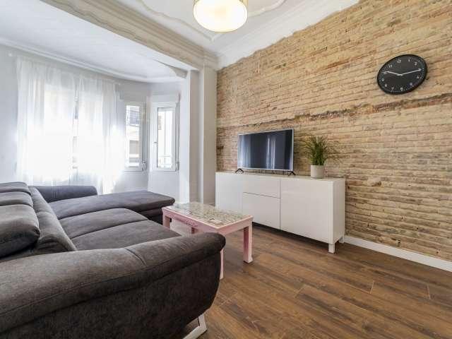 Elegante apartamento de 1 dormitorio en alquiler Ciutat Vella, Valencia