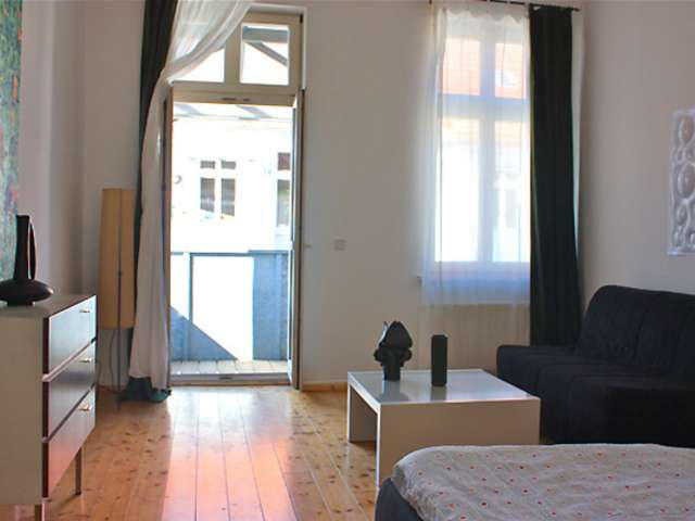 Hip studio apartment for rent in Prenzlauer Berg, Berlin