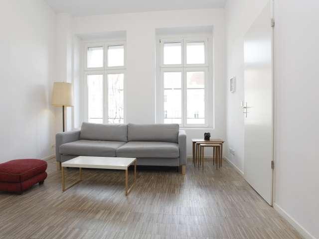 Helle 1-Zimmer-Wohnung zu vermieten in Mitte, Berlin