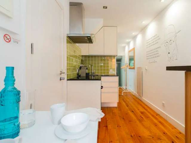 Terrific studio apartment for rent in Arroios, Lisbon