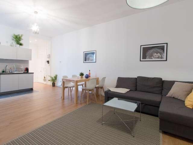 Pleasant 1-bedroom apartment for rent in Moabit, Berlin