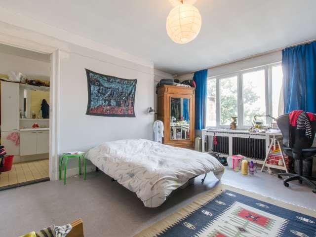 Decorated room in apartment in Schaerbeek, Brussels