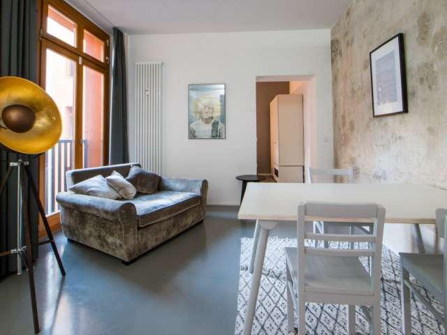 Stilvolle Studio-Wohnung zur Miete in Friedrichshain, Berlin