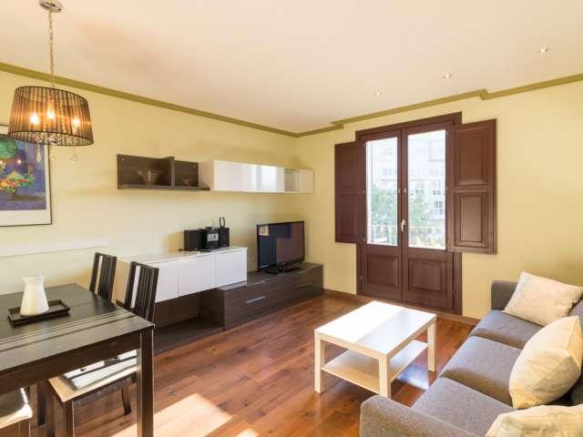 Moderne 3-Zimmer-Wohnung zur Miete in El Raval, Barcelona