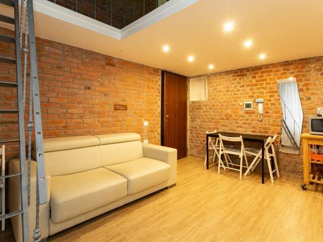 Stylish studio apartment for rent in San Cristoforo, Milan