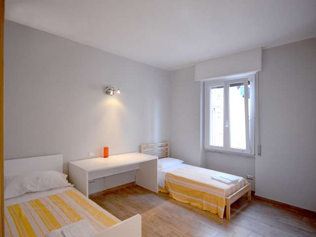 Bed in shared room in apartment in Tibaldi, Milan