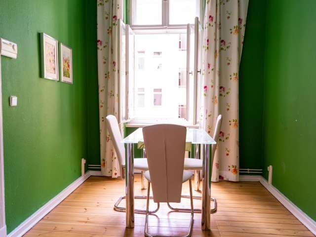 Trendiges Apartment mit 1 Schlafzimmer zur Miete in Prenzlauer Berg