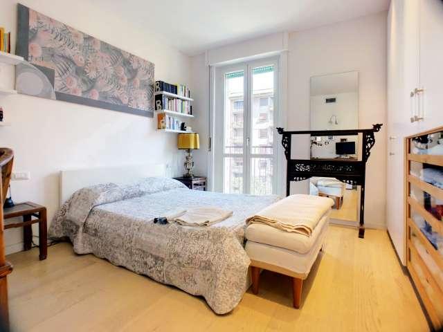 Spaziosa camera in appartamento con 3 camere da letto a Sempione, Milano