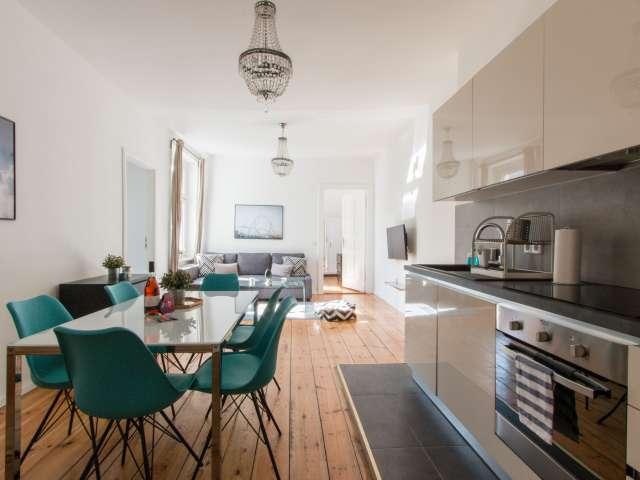 First-class 2-bedroom apartment for rent in Moabit, Berlin