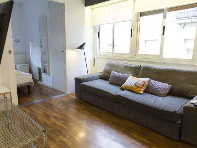 Appartamento con 1 camera da letto in affitto a La Barceloneta, Barcellona