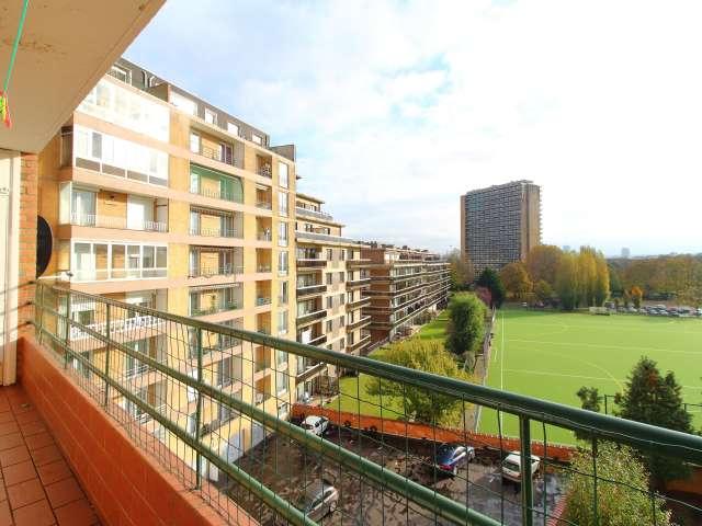 Appartement ensoleillé de 2 chambres à louer à Molenbeek-Saint-Jean