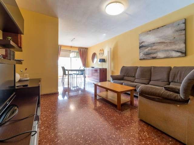 Spacious 3-bedroom apartment for rent in La Saïdia, Valencia