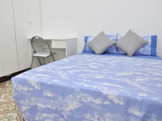 Big room in 4-bedroom apartment in Gràcia, Barcelona