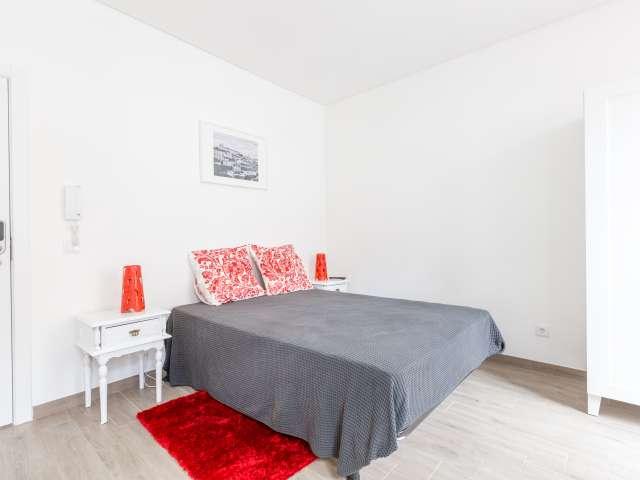 Acolhedor apartamento para alugar em Alameda