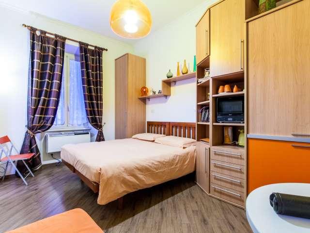 Moderno monolocale con aria condizionata affitto a Prati, Roma