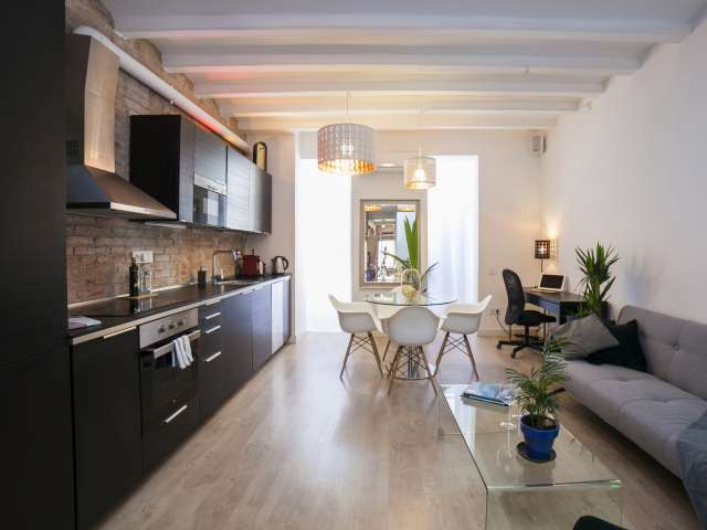 Funky loft apartment for rent in Poble-sec, Barcelona